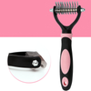 Pet Knot & Hair Remover Rake for Grooming