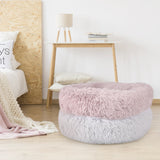 Soft Round Plush Pet Nest Bed