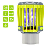 Hisome Bug Zapper Light Mosquito Killer Light IP67 Waterproof Electric Insect Killer with Camping lamp Flashlight