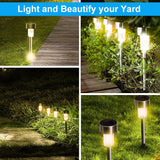 10 PCS Outdoor Led Solar Garden Lights