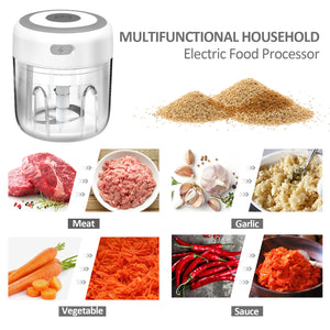 Mini Electric Garlic Chopper