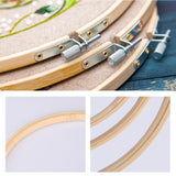 Hisome Embroidery Hoop, 10 Pieces Wooden Embroidery Hoops