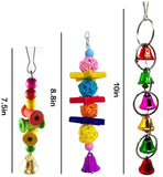 7 Pcs Combinated Bird Swings with Different Kinds