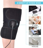 Heated Knee Brace Wrap Support For Knee Sprains Cramps Joint Pain Arthritis Pain Relief