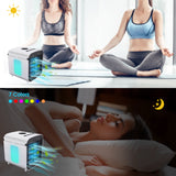 Hisome Portable Rechargeable Air Cooler with 3 Speeds