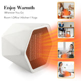 Hexagonal Design Heater, Portable and Silent Household Heater for Office and Home