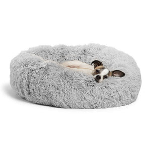 Long Plush Soft & Comfortable Dog Bed
