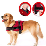Nylon Dog Harness No Pull Dogs Harness Quick Control Service Pets Vest