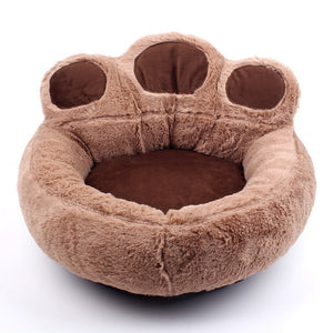 Warm Winter Pet Nest Paw Kennel Bed