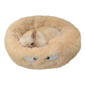 Long Plush Sleeping Cushion Pet Mat