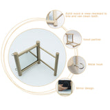 Features of the Wooden Bird Stand with Mirror