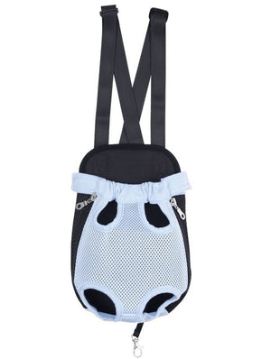 Pet Carrier: Dog Front Backpack with Five Holes