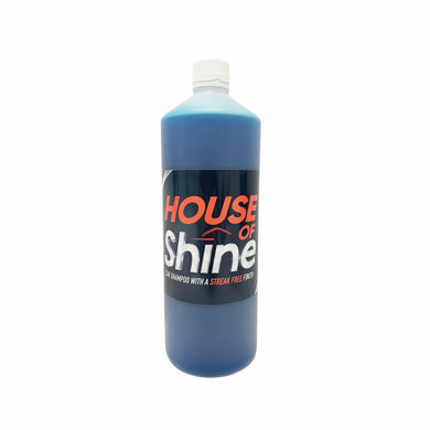 House Of Shine Car Shampoo 1Ltr WAX Streak Free Finish 745110042693