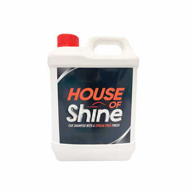 House Of Shine Car Shampoo 2.5 Ltr WAX Streak Free Finish 745110042693