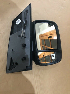 New Genuine Fiat Scudo 07-11 Right Manual Black Wing Door Mirror 9467180088