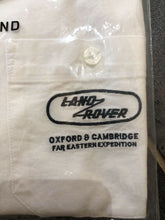 Load image into Gallery viewer, Genuine Land Rover Mens Heritage Shirt - White Brand New Small