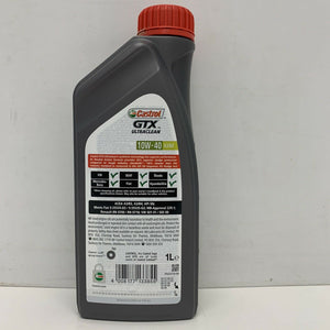 Castrol GTX Ultraclean Semi Synthetic 10W40 A3/B4 1 Litre