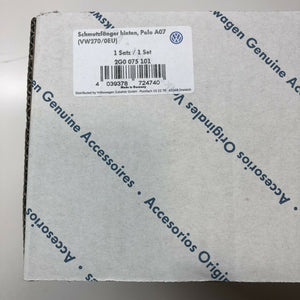 Genuine Volkswagen Polo Rear Mudflaps - 2017  2g0075101
