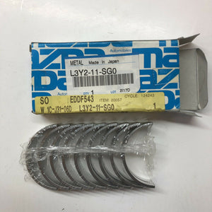 Mazda Speed 3 6 CX-7 2.3L MPS TURBO MAIN BEARINGS STD / NO THRUST WASHER L3-VDT