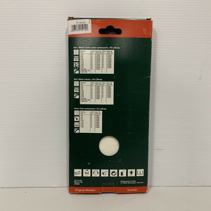 Genuine Metabo 625788 Sanding Sheets P80 Size 115x230 , 10pcs