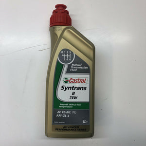 Castrol 15B036 1L Syntrans FE Transmission Fluid 1 Litre 75W Fully Synthetic