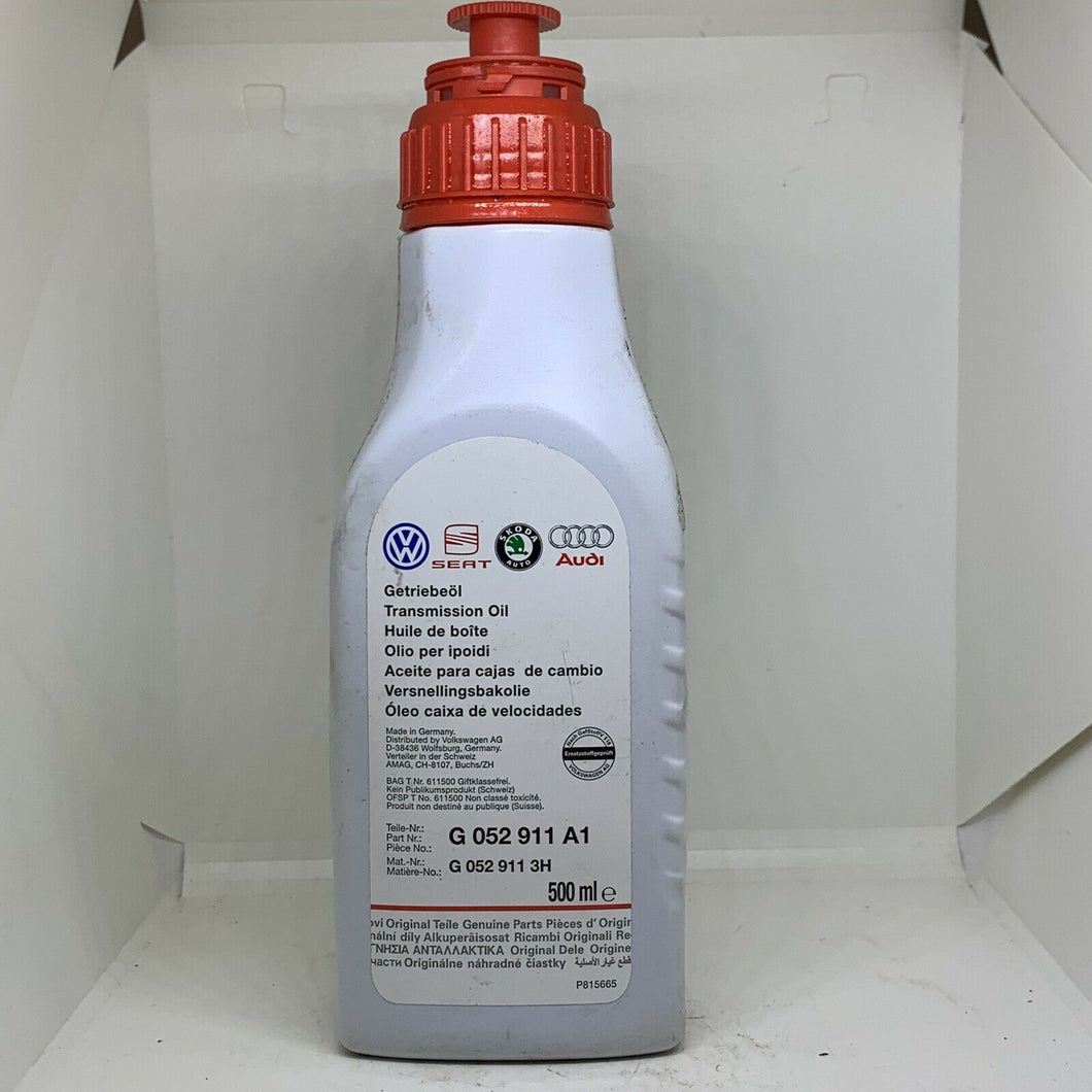 genuine volkswagen transmission oil 500mm  G052911A1