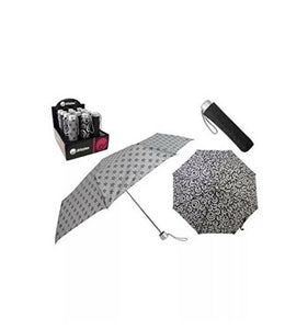 Drizzles Umbrella Black & White Prints - Ks Brands Assorted Colours Uu0118