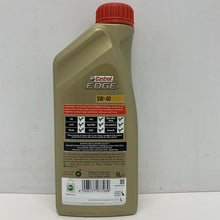 Load image into Gallery viewer, Castrol EDGE TITANIUM 5W-40 Fully Synthetic Engine Oil 5W40 1 Litre 1L