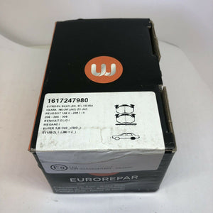 Genuine eurorepar Rear Brake Pads Set