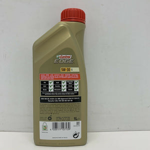 Castrol EDGE Titanium 5W30 LL Fully Synthetic Longlife Engine Oil 1L 1 Litre