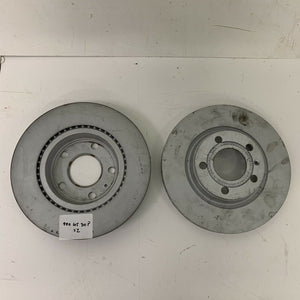 NEW GENUINE AUDI A4 FRONT BRAKE DISCS PAIR 8E0615301P NEW GENUINE AUDI PART