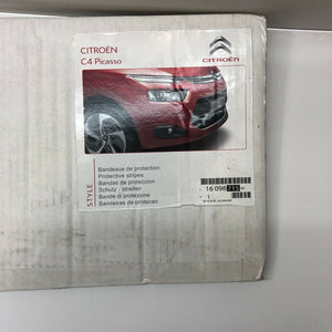 GENUINE NEW CITROEN C4 PICASSO 2013 on FRONT BUMPER PROTECTOR STRIPS 1609871580