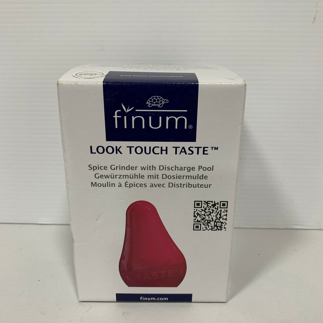 Genuine Finum - Look - Touch - Taste - Spice Grinder with Discharge Pool