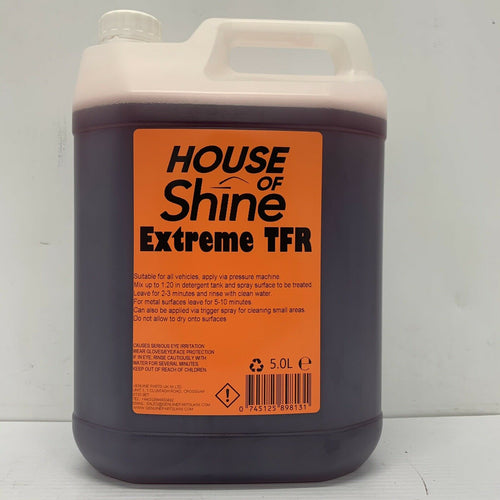 House Of Shine 5 Litres TFR Concentrated Traffic Film Remover 0745125898131