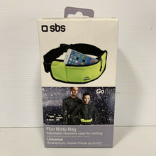 Load image into Gallery viewer, SBS Fluo Sport Belt Body Bag - NEON YELLOW brand new