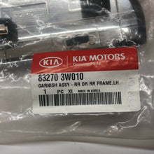 Load image into Gallery viewer, KIA OEM 11-16 Sportage Exterior-Rear-Applique Window Trim Left 832703W010 Frame