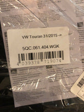 Load image into Gallery viewer, Genuine Volkswagen Touran 2015- Carpet Mat Set Brand New 5qc061404wgk
