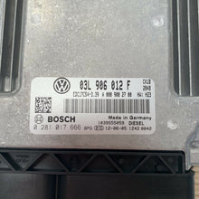 Load image into Gallery viewer, Genuine Volkswagen ECU Crafter 03L906012F 03L 906 012 F