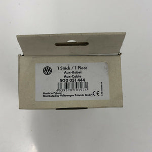 Genuine Volkswagen AUX Cable Adapter 5G0051444