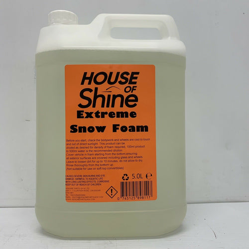House Of Shine Extreme Snow Foam 5L 0745125898117
