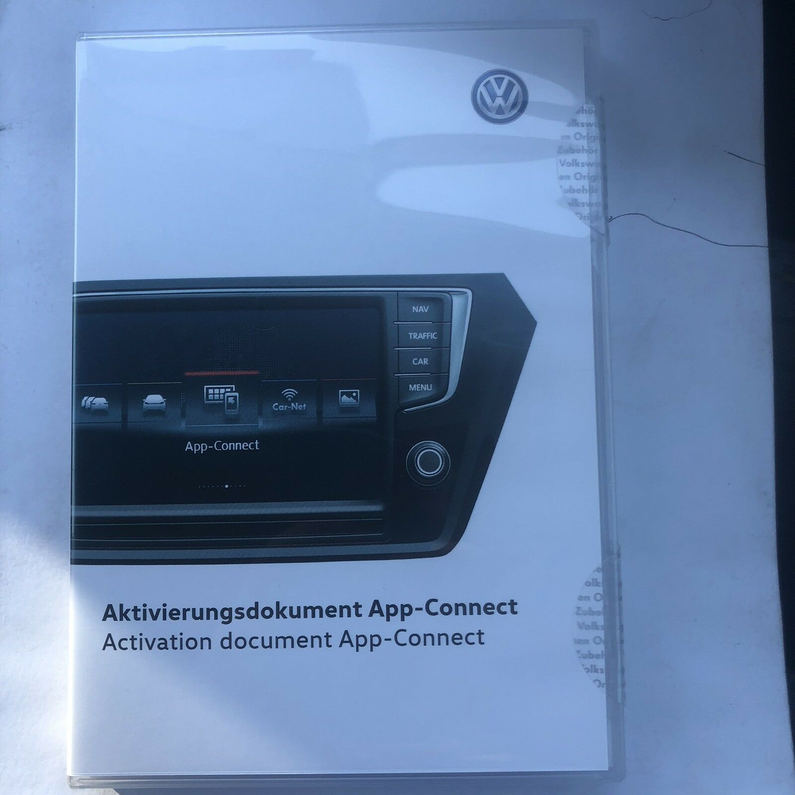 VW original appconnect MirrorLink carplay Android auto 5g0 054 830A