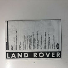 Load image into Gallery viewer, Genuine Land Rover Discovery 4 10-16 Tow Bar Electrics Vplat0013