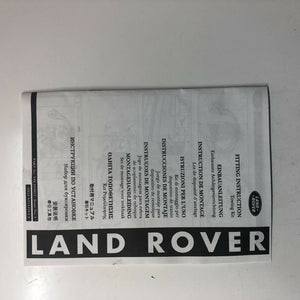 Genuine Land Rover Discovery 4 10-16 Tow Bar Electrics Vplat0013