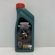 Load image into Gallery viewer, Castrol Magnatec Stop-Start 5W-30 A5 Fully Synthetic Engine Oil 1 Litres 1L