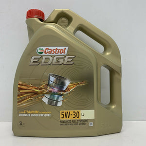 Castrol EDGE Titanium 5W-30 LL Full Synthetic Engine Oil 5 Litres