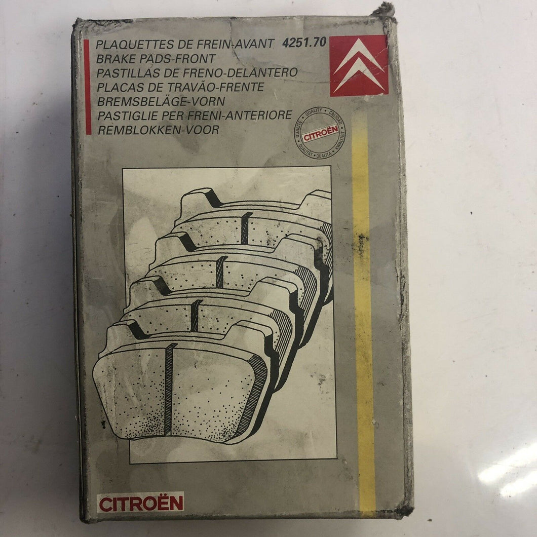 Genuine CITROEN XSARA BRAKE PAD KIT FRONT GENUINE NEW 425306 RRP £60 !