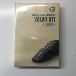 Genuine Volvo DVD / VOLVO HDD RTI EUROPE - ROAD AND TRAFFIC INFORMATION