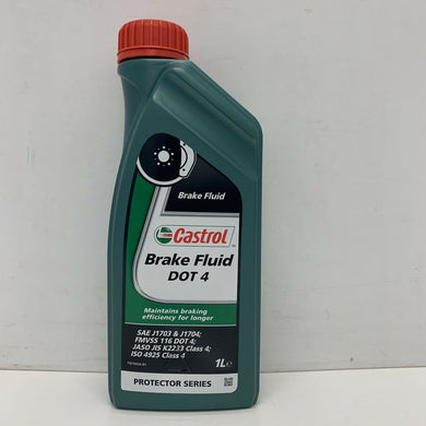 Castrol Brake Fluid Fully Synthetic  Dot 4 Dot4 1 Litre 1L