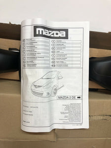 New Genuine Mazda 2 Roof Bars/Rack Carrier System DF73V4701