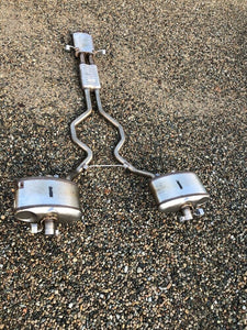 Genuine Land Rover Resonator Exhaust System With 2x Rear Mufflers&exhaust Tips